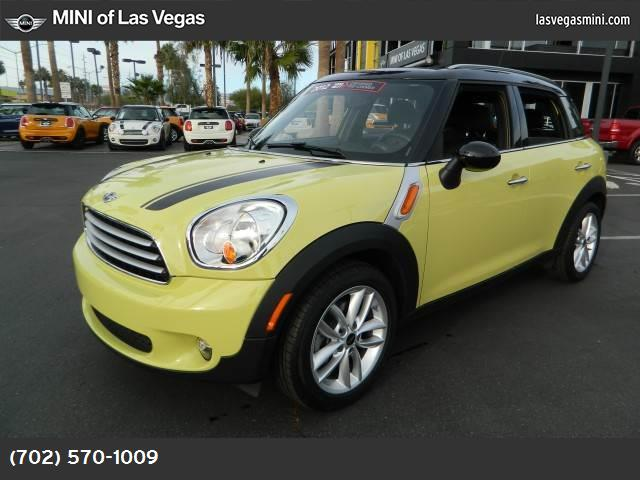 2012 MINI Cooper Countryman  dynamic stability control abs 4-wheel keyless entry keyless start