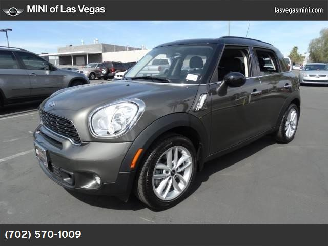 2014 MINI Cooper Countryman S royal gray metallic turbocharged front wheel drive power steering