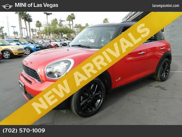 2013 MINI Cooper Countryman S ALL4 blazing red turbocharged all wheel drive keyless start power