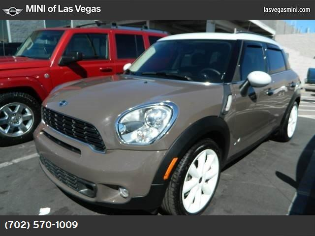 2013 MINI Cooper Countryman S ALL4 light coffee turbocharged all wheel drive keyless start powe