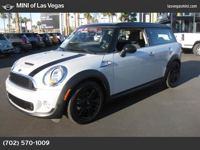 2012 MINI Cooper Clubman S sport pkg performance suspension traction control dynamic stability c