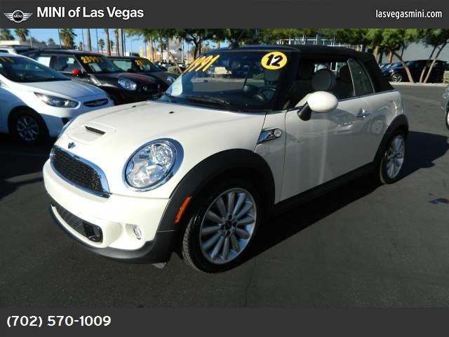 2012 MINI Cooper Convertible S sport pkg hill start assist control dynamic stability control abs