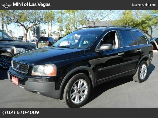 2004 Volvo XC90  turbocharged traction control stability control all wheel drive tires - front