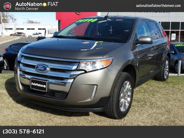 2014 Ford Edge Limited hill start assist control traction control advancetrac abs 4-wheel air