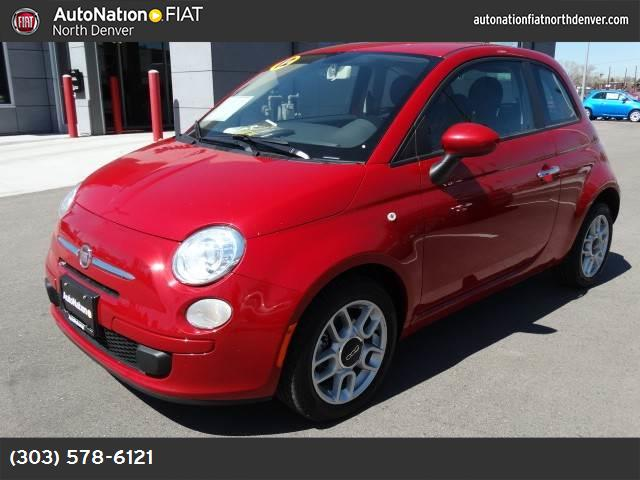 2012 FIAT 500 Pop 14l 16-valve i4 multi-air engine  std 15  x 6  aluminum wheels 21a custome