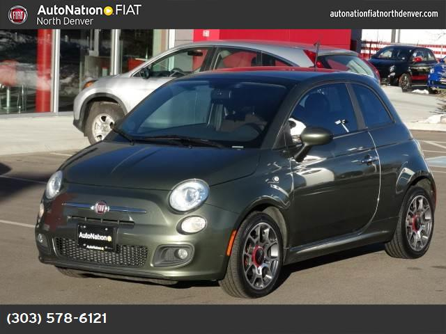 2012 FIAT 500 Sport hill start assist control traction control stability control abs 4-wheel