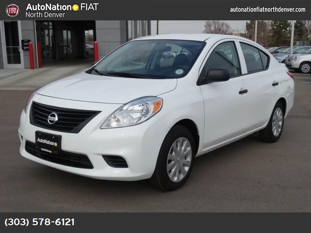 2014 Nissan Versa S Plus traction control vchl dynamic control abs 4-wheel air conditioning p