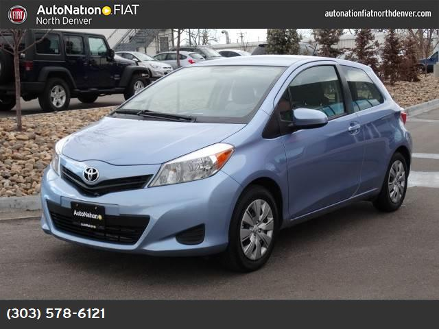 2012 Toyota Yaris L front wheel drive power steering front discrear drum brakes wheel covers s