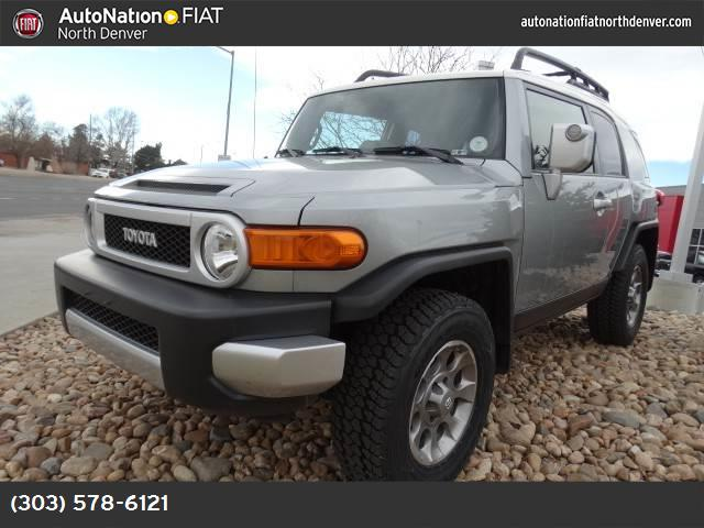 2012 Toyota FJ Cruiser  traction control stability control abs 4-wheel air conditioning power
