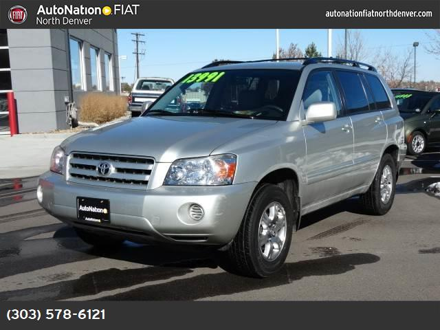2006 Toyota Highlander w3rd Row traction control stability control abs 4-wheel air conditioni
