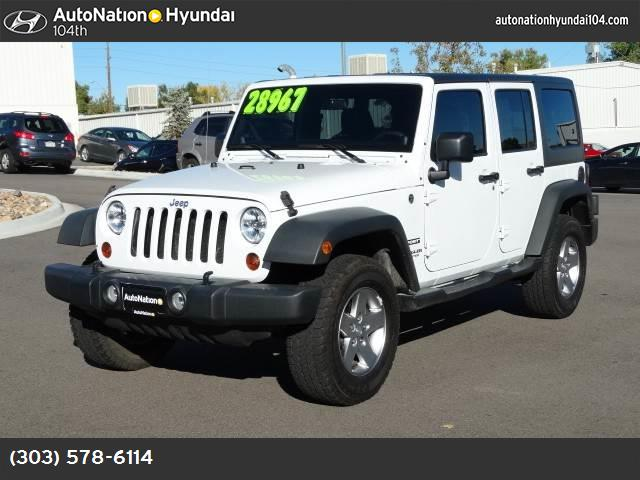 2012 Jeep Wrangler Unlimited Sport hill start assist control traction control stability control