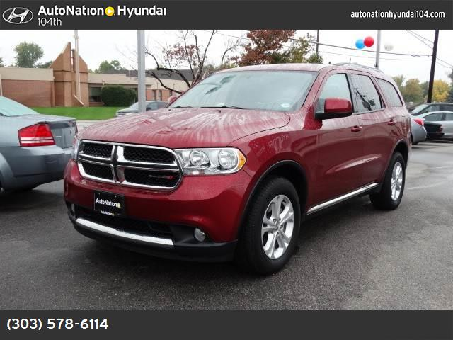 2013 Dodge Durango SXT hill start assist control traction control stability control abs 4-wheel