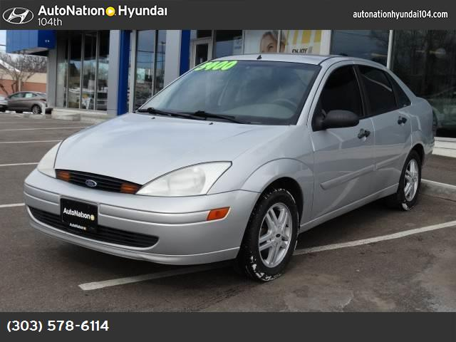 2000 Ford Focus SE air conditioning power door locks power steering amfm stereo cassette dual