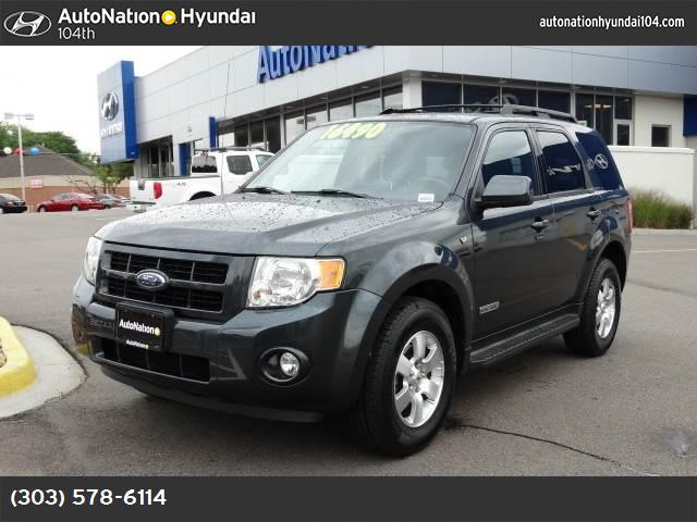 2008 Ford Escape Limited traction control stability control abs 4-wheel air conditioning powe