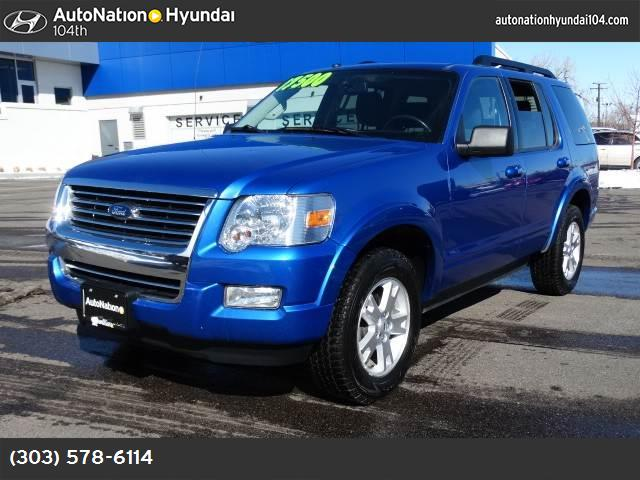 2010 Ford Explorer XLT traction control stability control abs 4-wheel air conditioning air co