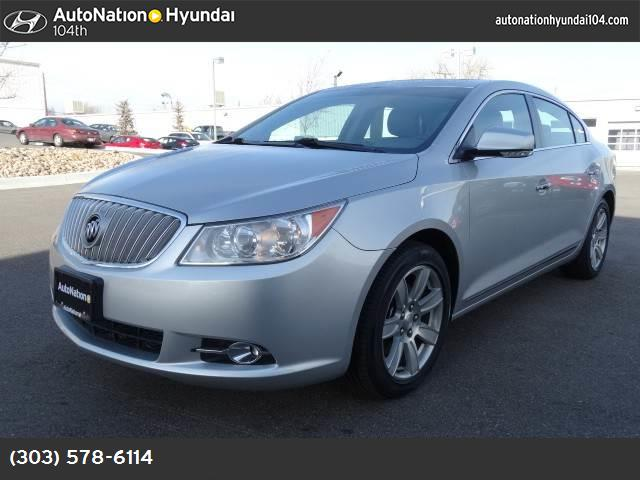 2010 Buick LaCrosse CXL traction control abs 4-wheel keyless start air conditioning power win