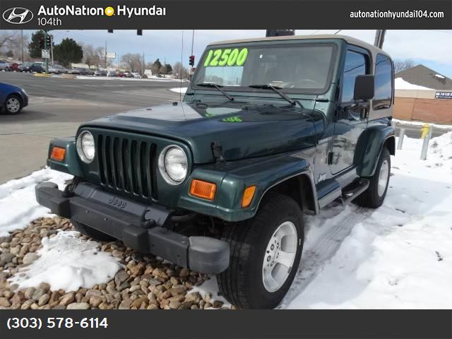 2000 Jeep Wrangler Sahara 40l 242 smfi i6  power tech  engine  std four wheel drive tow ho