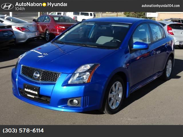 2012 Nissan Sentra 20 SR metallic blue front wheel drive power steering front discrear drum br