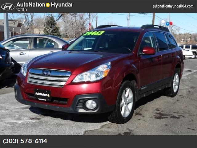 2013 Subaru Outback 25i Premium 27573 miles VIN 4S4BRBCC6D3310749 Stock  1171303911 24463
