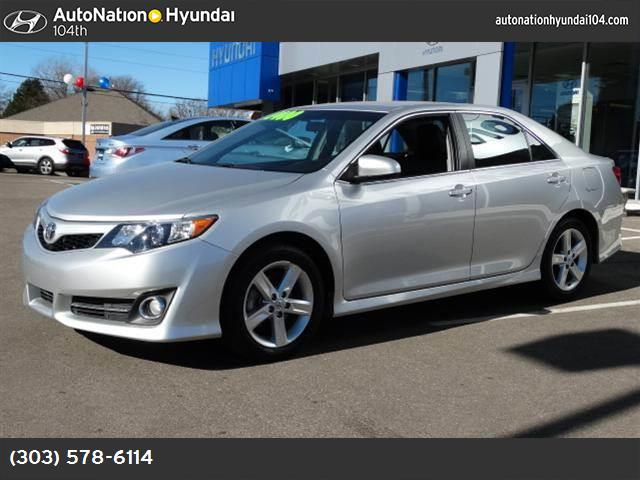 2013 Toyota Camry L classic silver metallic front wheel drive power steering 4-wheel disc brakes