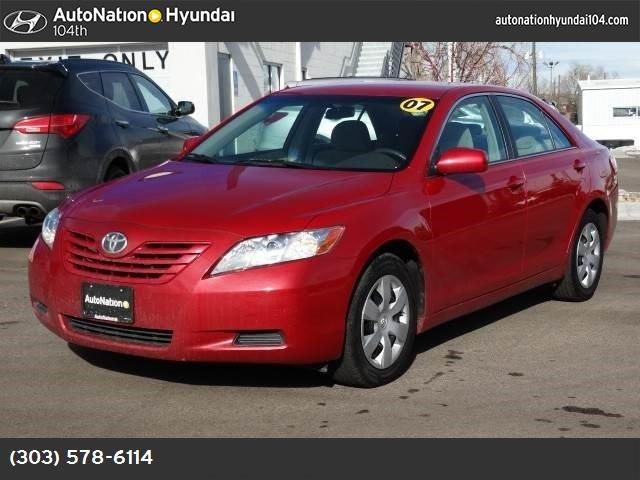 2007 Toyota Camry LE abs 4-wheel air conditioning power windows power door locks cruise contr