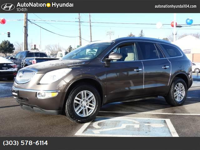 2008 Buick Enclave CX power liftgate release traction control stabilitrak abs 4-wheel keyless