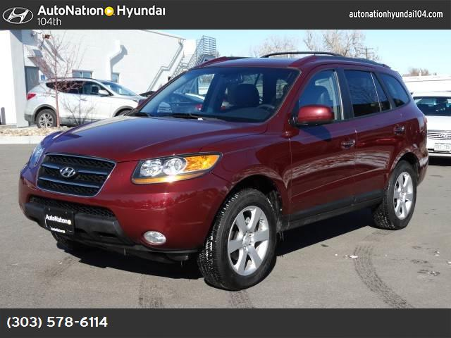2008 Hyundai Santa Fe Limited traction control stability control abs 4-wheel air conditioning
