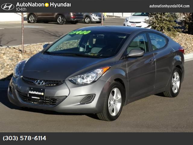 2013 Hyundai Elantra GLS traction control stability control abs 4-wheel air conditioning powe