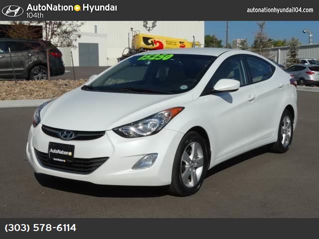 2012 Hyundai Elantra GLS traction control stability control abs 4-wheel air conditioning powe