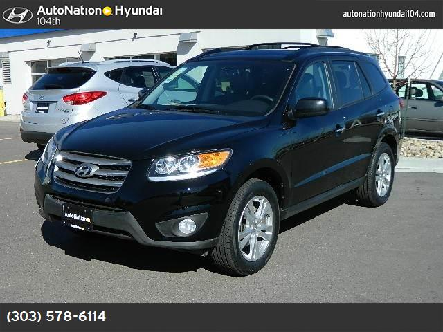 2012 Hyundai Santa Fe Limited downhill assist control traction control stability control abs 4-