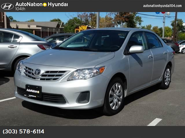 2013 Toyota Corolla L traction control stability control abs 4-wheel keyless entry air condit
