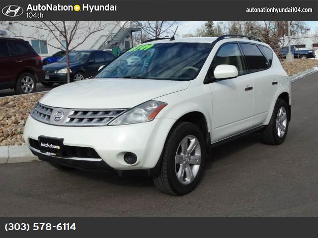 2006 Nissan Murano S abs 4-wheel air conditioning power windows power door locks cruise contr