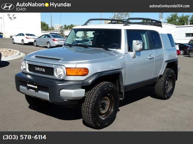 2008 Toyota FJ Cruiser  traction control stability control abs 4-wheel air conditioning power