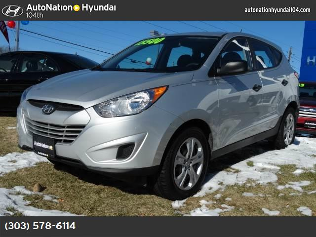 2010 Hyundai Tucson GLS traction control stability control abs 4-wheel air conditioning power