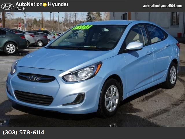 2013 Hyundai Accent GLS traction control stability control abs 4-wheel air conditioning power
