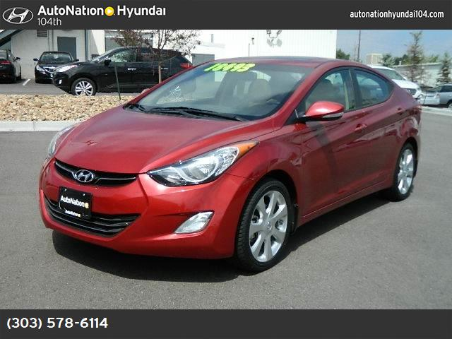2013 Hyundai Elantra Limited abs 4-wheel keyless entry keyless start air conditioning power w