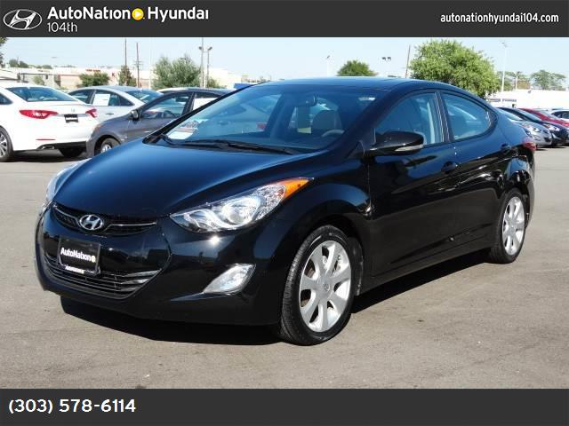 2012 Hyundai Elantra Limited PZEV traction control stability control abs 4-wheel air condition
