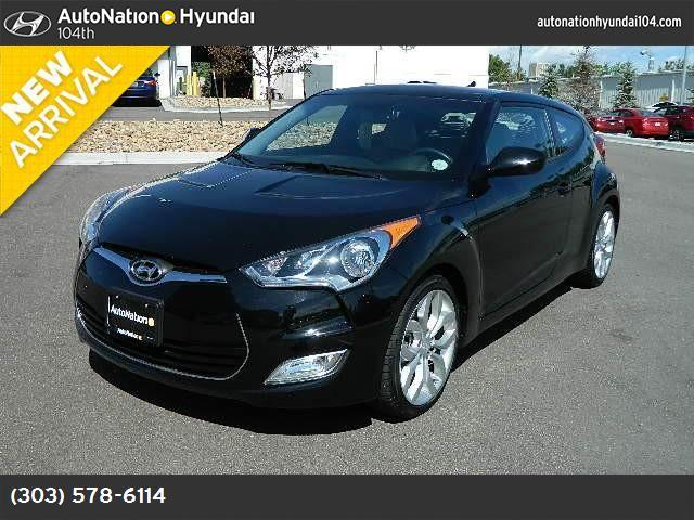 2013 Hyundai Veloster wBlack Int traction control stability control abs 4-wheel air condition