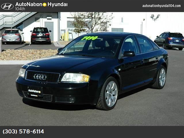 2000 Audi A6  traction control air conditioning power windows power door locks cruise control