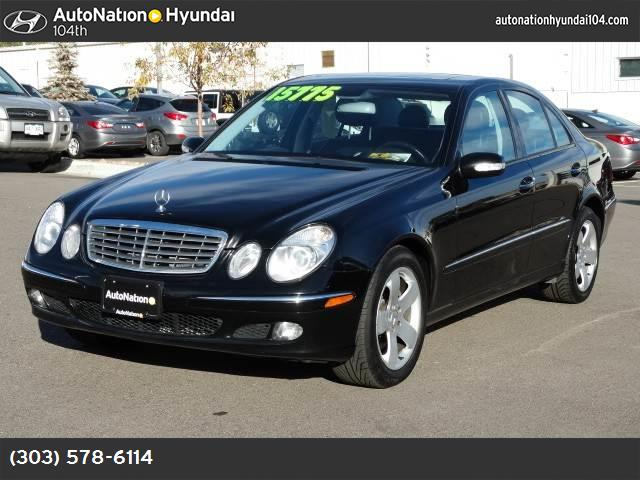 2006 Mercedes E-Class 35L traction control stability control abs 4-wheel air conditioning po