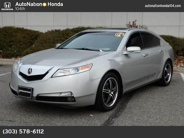 2009 Acura TL Tech traction control stability control abs 4-wheel keyless entry air condition