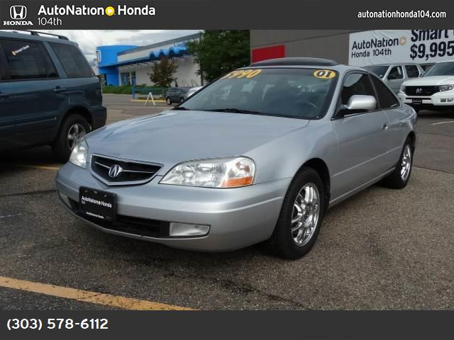 2001 Acura CL  rest assured when you purchase a vehicle with the carfax buyback guarantee  youre