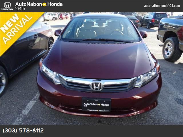 2012 Honda Civic Sdn LX traction control stability control abs 4-wheel keyless entry air cond