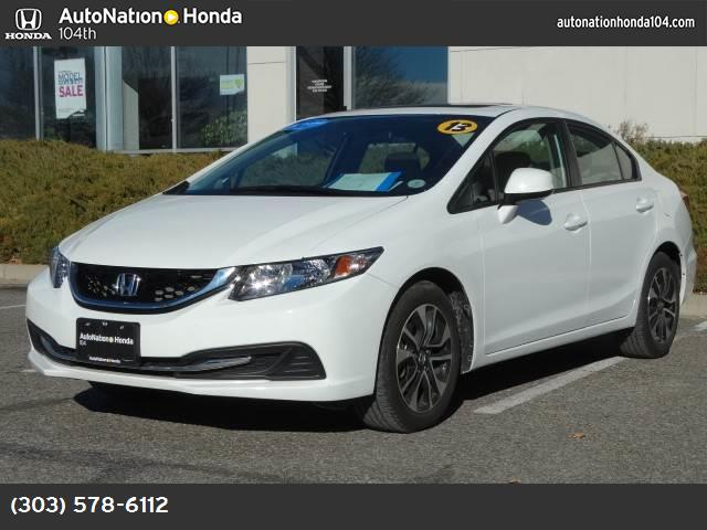 2013 Honda Civic Sdn EX traction control stability control abs 4-wheel keyless entry air cond