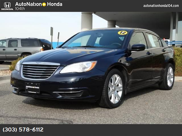 2012 Chrysler 200 Touring touring suspension traction control stability control abs 4-wheel k