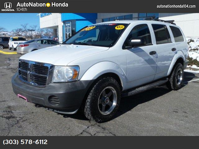 2007 Dodge Durango SXT traction control stability control abs 4-wheel air conditioning air co