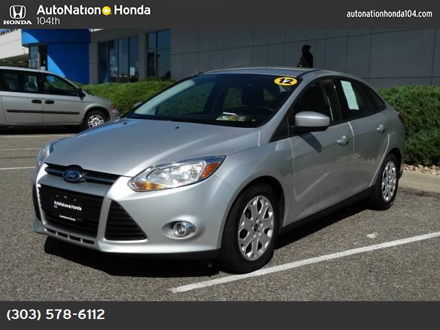 2012 Ford Focus SE traction control advancetrac abs 4-wheel keyless entry air conditioning p