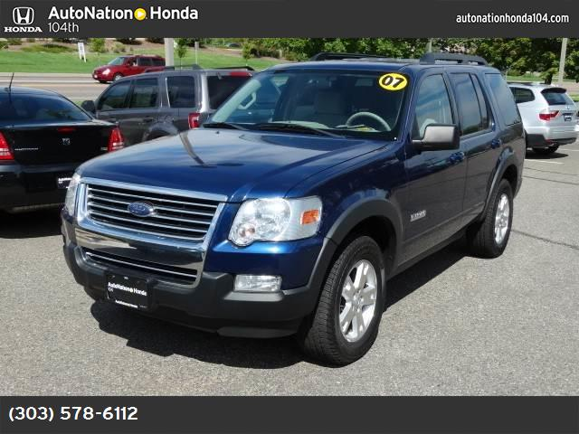 2007 Ford Explorer XLT stability control abs 4-wheel air conditioning air cond rear power win
