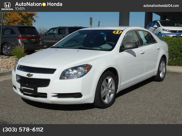 2011 Chevrolet Malibu LS w1FL traction control stability control abs 4-wheel air conditioning