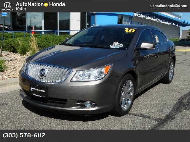 2011 Buick LaCrosse CXL traction control stabilitrak abs 4-wheel air conditioning power windo